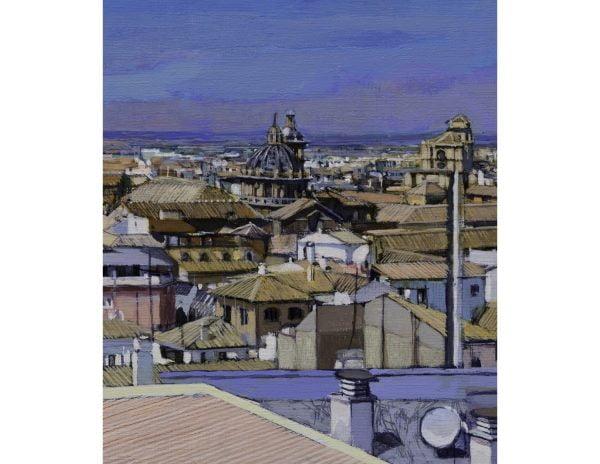 Granada desde la Tesorería. Reproducción
