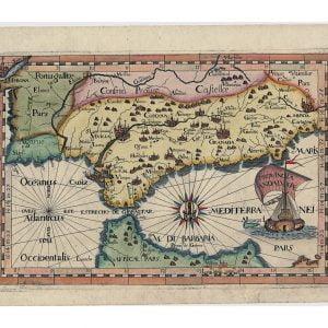 Atlas de los Capuchinos del siglo XVIII.