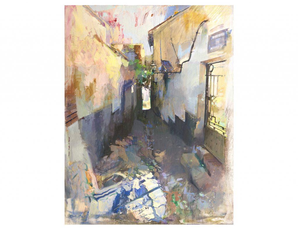 Calle del Ablación de Granada.