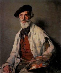 Zuloaga, retrato
