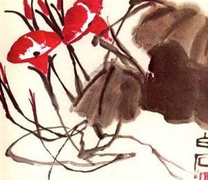 volubilis de Qi Bai-Shi para blog de milartienda.com