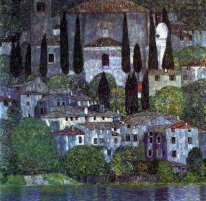 Paisajes y vistas de Gustav Klimt para milartienda.com
