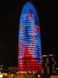 Torre Agbar para milartienda.com