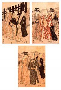 Obras de Utagawa Toyoharu para blog de milartienda.com