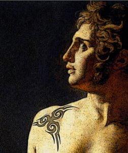 Detalle tatuaje. Milartienda.com
