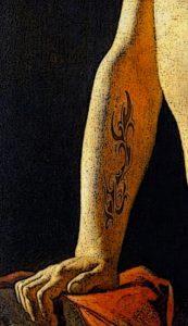 Detalle tatuaje de Ingres para blog milartienda.com