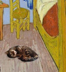 Detalle de habitación y gato para blog de milartienda.com