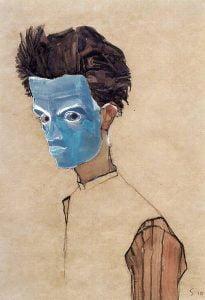 Jugando con Egon Schiele para milartienda.com