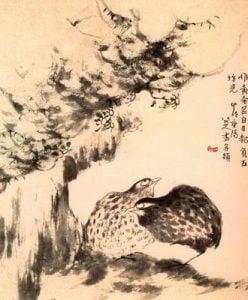 Arte chino. Obra de Chu Ta para blog de milartienda.com