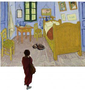 Jugando con Van Gogh para milartienda.com
