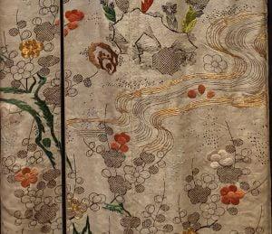 Detalle kimono japonés para milartienda.com