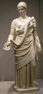Escultura de Hygieia para milartienda.com