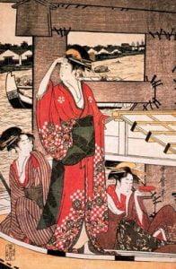 pintura japonesa para milartienda.com