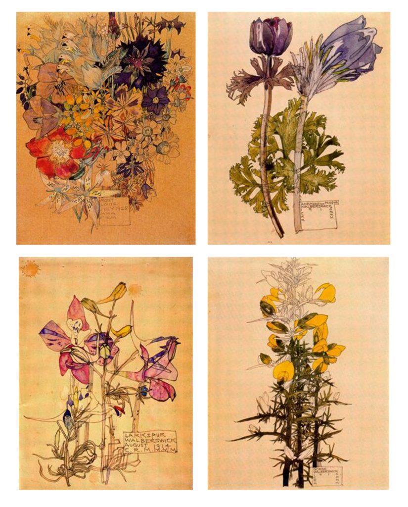 Arte floral Mackintosh para blog de milartienda.com