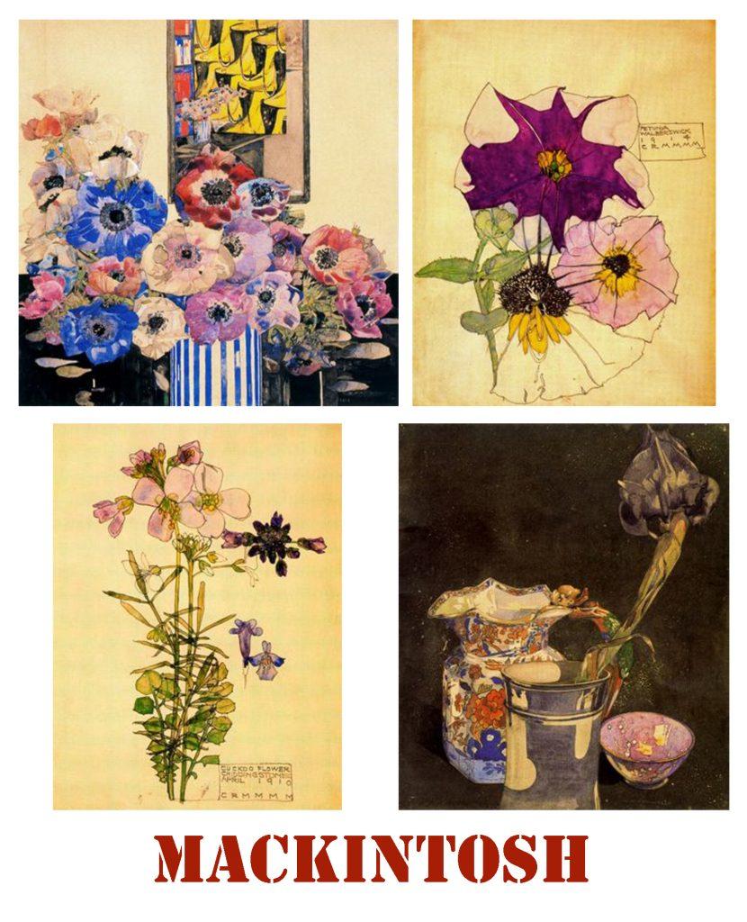Flores de Mackintosh para blog de milartienda.com