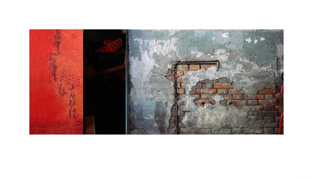 Pared con rojo, fotografía de Carmelo Trenado para milartienda.com