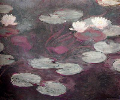 Nenúfares rosa de Monet para blog de milartienda.com