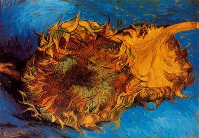 Dos girasoles de Van Gogh para blog de milartienda.com