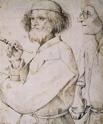 Dibujo de Brughel el Viejo en la Albertina para blog de milartienda.com