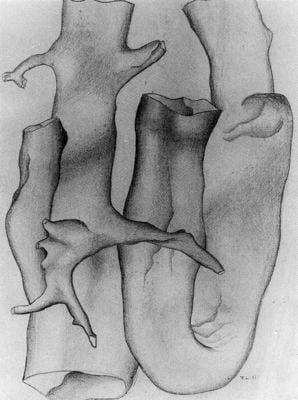 Dibujo de Leger en Pompidou para blog de milartienda.com