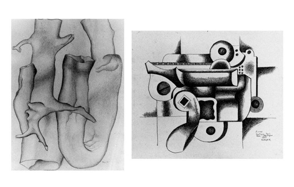 Dibujos de Leger en el Pompidou para blog milartienda.com