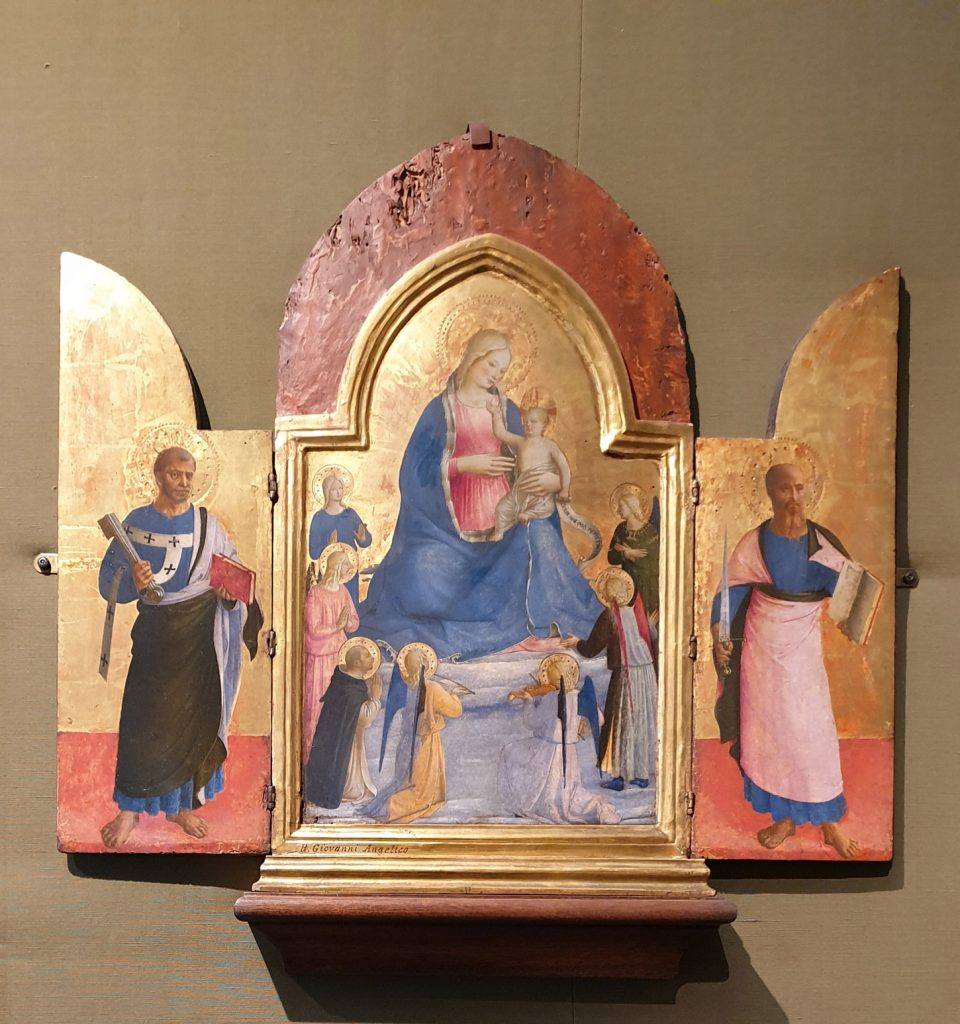 Fra Angelico del Ashmolean para blog de milartienda.com