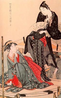 arte de Utamaro del British para blog de milartienda.com