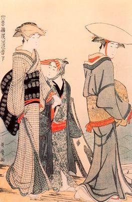 Obra de Utamaro en el British Museum para blog de milartienda.com