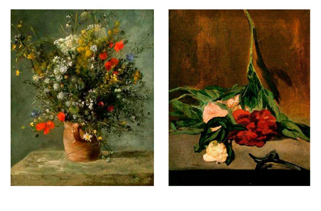 Flores impresionistas para blog de milartienda.com