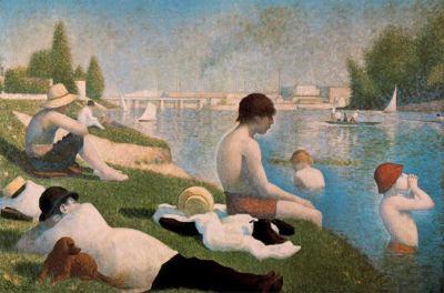 Seurat en la National Gallery para blog de milartienda.com