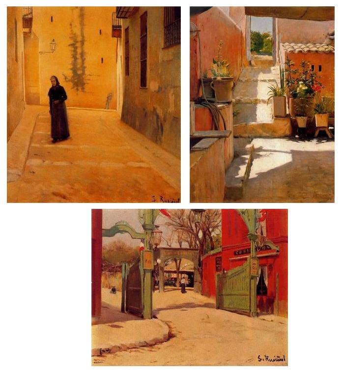 Obras de Rusiñol para blog de milartienda.com
